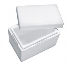 Styroporbox für 10 Kg Trockeneis Nuggets